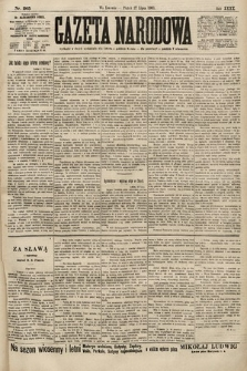 Gazeta Narodowa. 1900, nr205