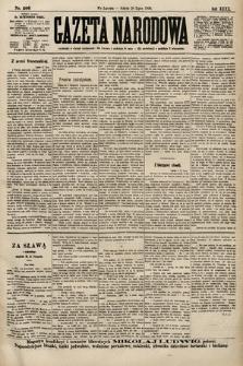 Gazeta Narodowa. 1900, nr206