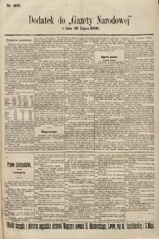 Gazeta Narodowa. 1900, nr208