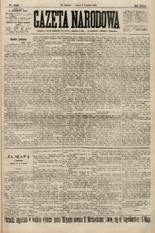 Gazeta Narodowa. 1900, nr212