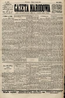Gazeta Narodowa. 1900, nr216