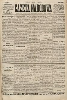 Gazeta Narodowa. 1900, nr218