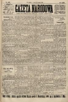 Gazeta Narodowa. 1900, nr219