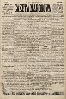 Gazeta Narodowa. 1900, nr224