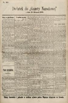 Gazeta Narodowa. 1900, nr229