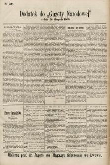 Gazeta Narodowa. 1900, nr236
