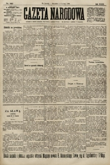 Gazeta Narodowa. 1900, nr242