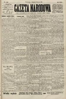 Gazeta Narodowa. 1900, nr249