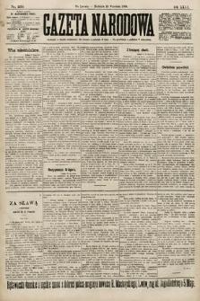 Gazeta Narodowa. 1900, nr256