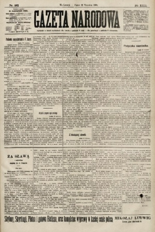 Gazeta Narodowa. 1900, nr261