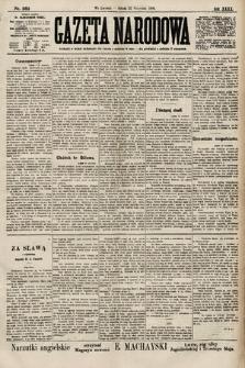 Gazeta Narodowa. 1900, nr262