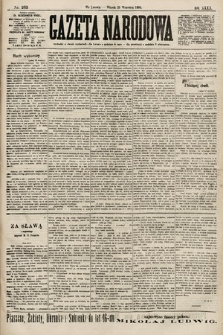 Gazeta Narodowa. 1900, nr265