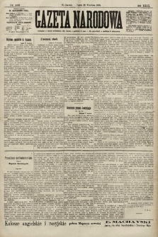 Gazeta Narodowa. 1900, nr268