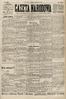 Gazeta Narodowa. 1900, nr272