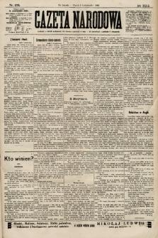 Gazeta Narodowa. 1900, nr275