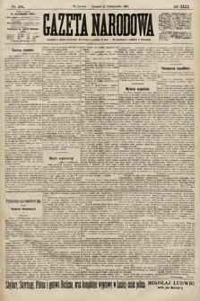 Gazeta Narodowa. 1900, nr281