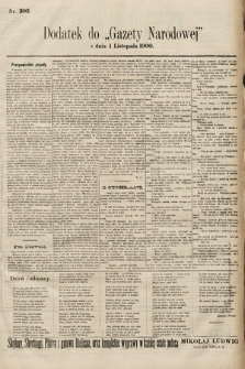 Gazeta Narodowa. 1900, nr303