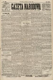 Gazeta Narodowa. 1900, nr305