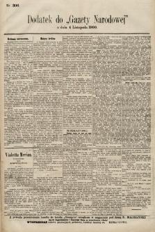 Gazeta Narodowa. 1900, nr306