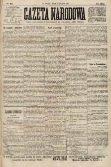 Gazeta Narodowa. 1900, nr311