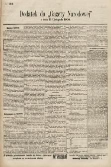 Gazeta Narodowa. 1900, nr313
