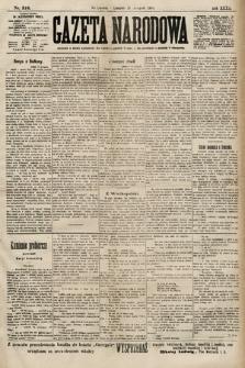 Gazeta Narodowa. 1900, nr316