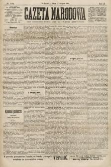 Gazeta Narodowa. 1900, nr318