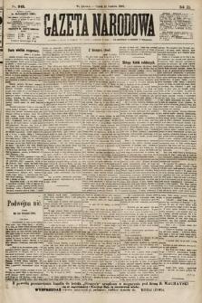 Gazeta Narodowa. 1900, nr345