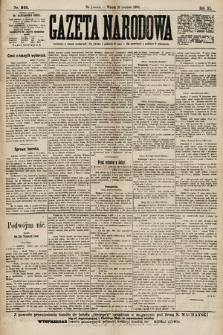 Gazeta Narodowa. 1900, nr349