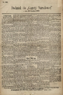Gazeta Narodowa. 1900, nr361