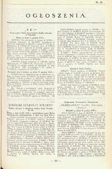 Ogłoszenia [dodatek do Dziennika Urzędowego Ministerstwa Skarbu]. 1936, nr23