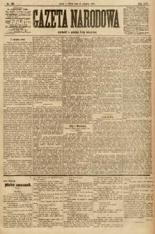 Gazeta Narodowa. 1906, nr186
