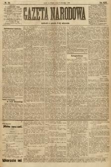 Gazeta Narodowa. 1906, nr201