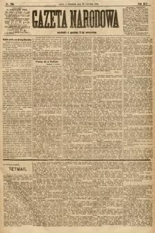 Gazeta Narodowa. 1906, nr204