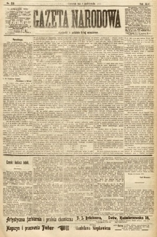 Gazeta Narodowa. 1906, nr221