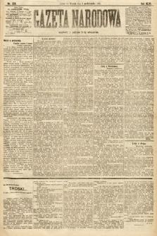 Gazeta Narodowa. 1906, nr225