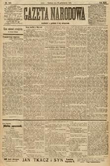 Gazeta Narodowa. 1906, nr242