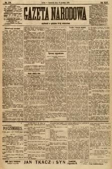 Gazeta Narodowa. 1906, nr279