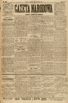 Gazeta Narodowa. 1906, nr285