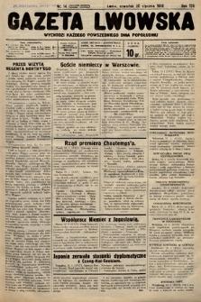 Gazeta Lwowska. 1938, nr14