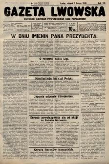 Gazeta Lwowska. 1938, nr24