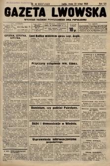 Gazeta Lwowska. 1938, nr42