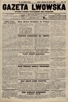 Gazeta Lwowska. 1938, nr43