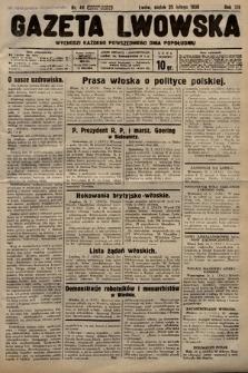 Gazeta Lwowska. 1938, nr44