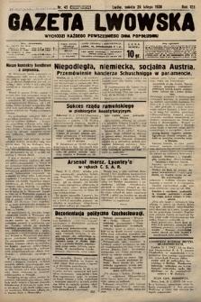 Gazeta Lwowska. 1938, nr45