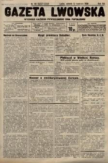 Gazeta Lwowska. 1938, nr83