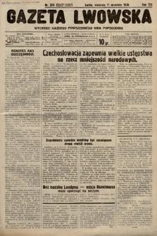 Gazeta Lwowska. 1938, nr206