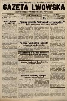 Gazeta Lwowska. 1938, nr214