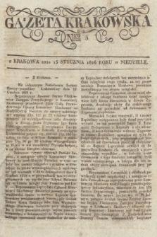 Gazeta Krakowska. 1826, nr5