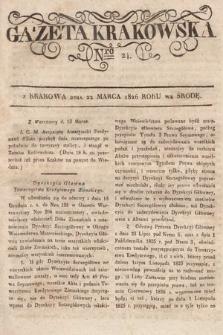 Gazeta Krakowska. 1826, nr24